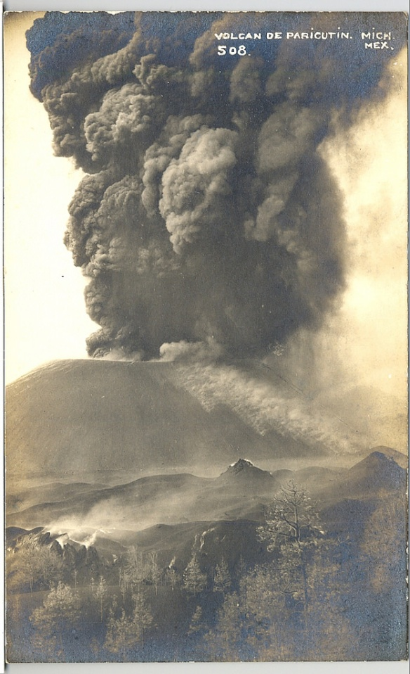 Paricutin Volcano Postcard Michoacan Mexico (Teyacapan) by Teyacapan (flickr)