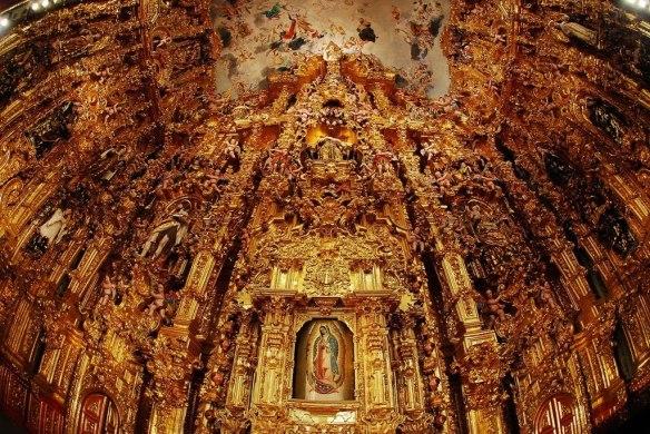 Templo San Francisco, Tepotzotlan Estado de Mexico.